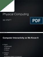 Intro to PC