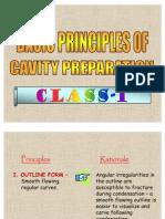 Principles of Cavity Preparations
