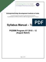 Syllabus Term3 10 Aug