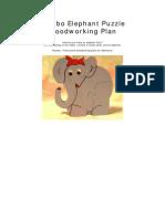 Dumbo Elephant Puzzle