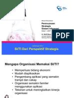 PSSI01R00 SI Dari Perspektif Strategis