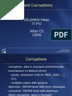C5 2007-06-01 Silent Corruptions P Kelemen