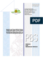 Panduan Dan Peraturan Pbs 2011