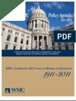 WI Jobs Policy Agenda 2011