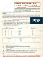 Www.dacaelectric.it Pubblic Manuali Schemi Antifurto Lince Lince Centrale Allarme LE468