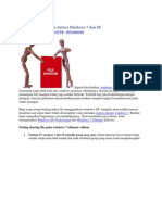 Share Folder Jaringan Antara Windows 7 Dan XP