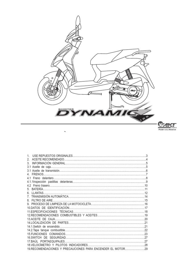 Manual Usuario Keeway Rks 125