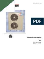 Bulletin 30-32-2011-01_ Chiller Installation Manual