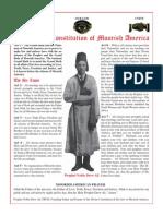 Divine Constitution of Moorish America