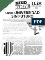 Una universidad sin futuro, Boletín #2, Febrero 2012