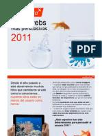 Las 50 webs más persuasivas de 2011