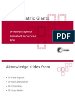 Geriatric Giants - Dr Seymour