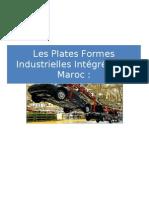Les plates formes industrielles intégrées