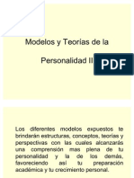 Modelos y Teorías de la Personalidad