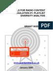 'Tools For Radio Content Regulation #1