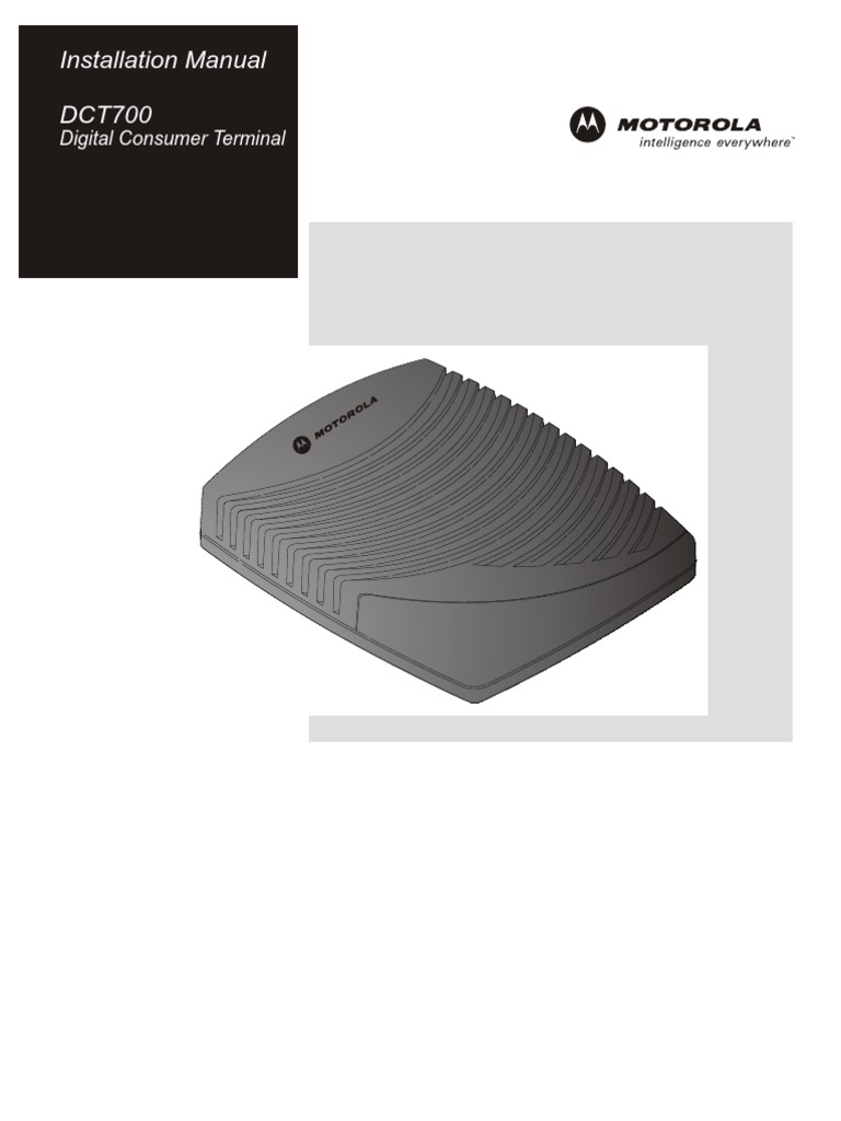 Dct700 us manual