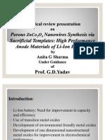 A Critical Review Seminar