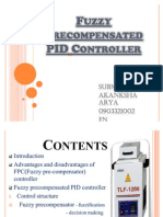 Fuzzy Pre Compensated PID Controller-Akanksha