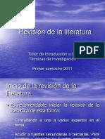 Clase 004b-Revision de La Literatura