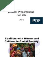 Student Presentations Day 2 Soc 202