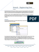 ANSYS 12 WB Engineering Data