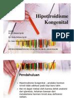 Mk End Slide Hipotiroidisme Kongenital