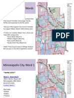 Vikings Stadium Minneapolis City Ward Breakdown