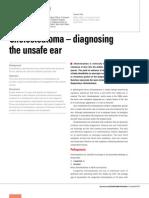 Cholesteatoma – diagnosing the unsafe ear