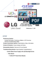 Lg 47lw5600 - Training Manual