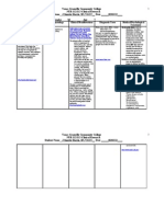 2012 NUR 112-113 Clinical Research Form