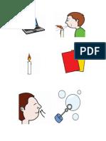 Pictogramas secuencia clase