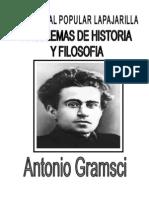 Gramsci a - Problemas de Historia y Filosofia