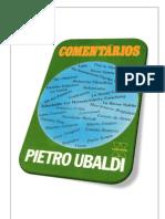 12- Comentários - Pietro Ubaldi (Volume Revisado e Formatado em PDF para impressão e encadernação em folha A4)