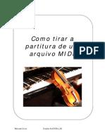Como Tirar a Partitura de Um Arquivo MIDI
