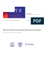 M. Takahashi et al- Effective field theory for spinor dipolar Bose Einstein condensates