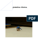 A ginástica rítmica