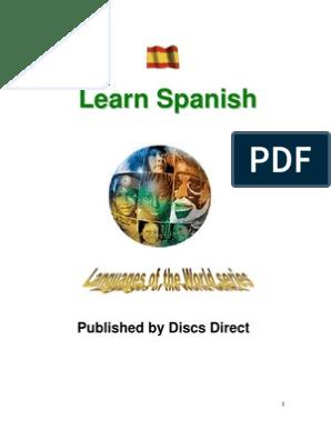 1 Learn Spanish E-Book | Grammatical Gender | Stress (Linguistics)