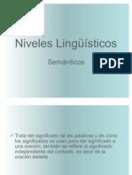 Niveles Lingüísticos