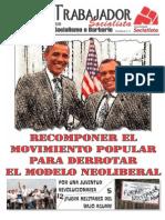 Honduras - El Trabajador Socialist A - 85