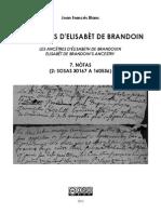 Joan Francés BLANC - Los aujòls d'Elisabèt de Brandoin 7