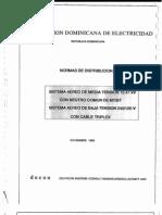 Normas de Distribucion Vol. II Rep. Dom.