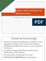 Cálculo, Diluição e Administração de Medicamentos