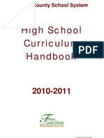 2010-11 HS Handbook