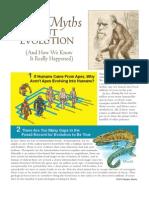 Top 10 Evolution Myths