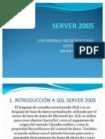 MANUAL BÁSICO SQL SERVER 2005