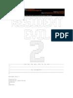 Resident Evil 2 Walk Through