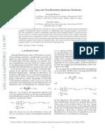 Vortex Pinning and Non-Hermitian Quantum Mechanics