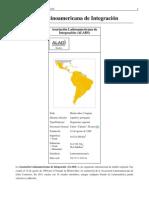 ALADI Asociación Latinoamericana de Integración