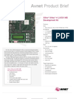Xilinx Virtex-4 LX-SX MB Development Kit-Product Brief