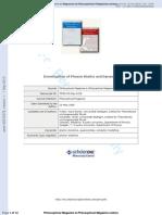 Hans-Rainer Trebin et al- Investigation of Phason Statics and Dynamics